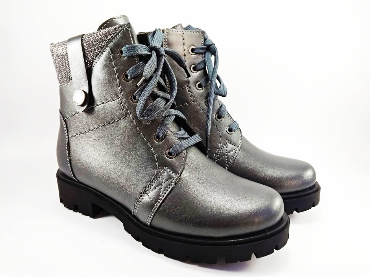 Взуття для дівчат  Черевики шкіряні зимові ТМ Stefano 30-38 e765e0a758035