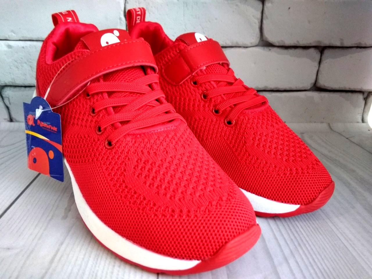 4a4e154cb20894 Взуття для дівчат: Кросівки Apawwa червоні сіткою 31-36